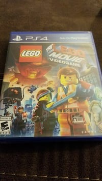 Lego Movie Video Game PS4 Sealed Unopened