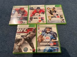 Xbox 360 sports games
