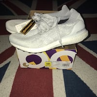 Adidas Ultraboost Uncaged unisex white gray  Germantown, 20874
