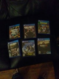 assorted Sony PS4 game cases London, N6A 1V4
