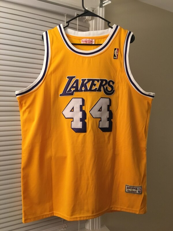 purchase cheap dfa21 09d13 LAKERS Jersey 44 WEST