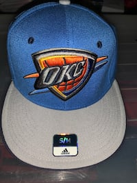 NBA OKC Thunder Fitted Hat