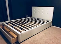 Brand New Queen Size Leather Bed w/Storage Drawer  Silver Spring, 20910