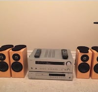 Arcam Receiver and DVD Player plus Totem Dreamcatcher speakers with brackets Richmond Hill, L4E 4Z4