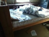 brown wooden bunk bed with mattresses Millsboro, 19966