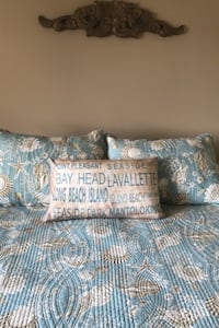 Lavalette, Point Pleasant and other Beach Towns Pillow