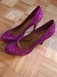 Pink Nine West size 5 and half