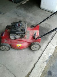 red and black push mower Youngsville, 16371