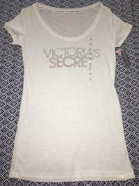 Victoria's Secret white rhinestone shirt size M
