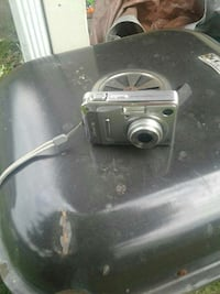 silver point and shoot camera