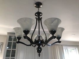 Two Ceiling Light Fixtures