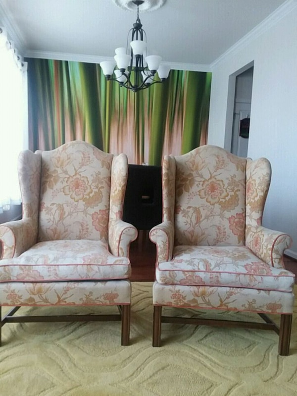 A Pair of Old Armchairs