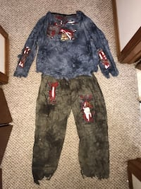 Zombie costume youth size 10-12 Fort Erie, L2A 2V6
