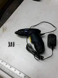 black and red corded power drill 803 km
