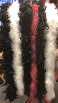 Feather boa ($5 each) Amherst, 14226