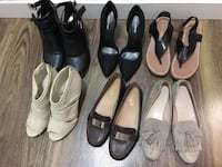 Women's assorted pairs of shoes Surrey, V3R 4C7