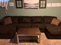 PRICE DROP Great condition, Microfiber couch