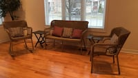 Patio /porch chairs and side tables with pillows Richmond Hill, L4E 5E9