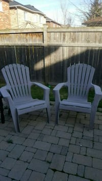 moving sale $20 for both muskoka chairs  Oakville, L6M 1Y3