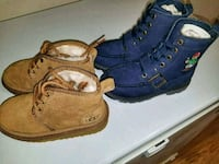 Polo and UGG boots size 11 Toddler  Washington, 20019