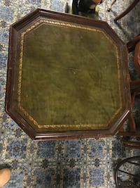 Vintage covered table