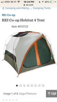 REI tent 4 person (camping, camp, outdoors, hiking, Moving sale, yard sale, backpacking) Rockville, 20852