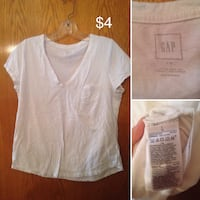 white v-neck shirt Winnipeg, R2K 3N3