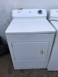 white front-load clothes washer 2266 mi
