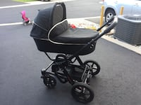 Stroller travel system; Hartan Sky VIP 2013; Stroller with bassinet and buggy. Occoquan, 22125