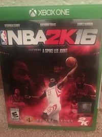 NBA 2K16 Xbox One game case Soldotna, 99669