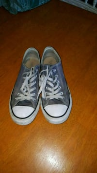 pair of blue Converse All Star low-top sneakers Montréal, H4E 2X7