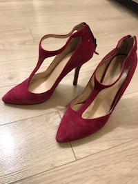 Nine West Pink stiletto heels Size 7
