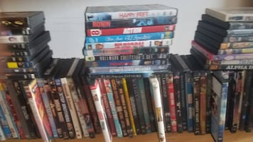 Large lot of 500 DVD's from Closed Tampa  Flea Market - Lot B