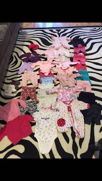 0-3m baby girl lot. Pu Birchmount finch or Pickering or meet nearby  Toronto, M1W 3L8
