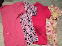 women's pink and white floral dress Denison, 75020