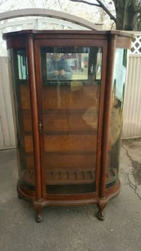 1900 Larkin Curved Glass Rifle Cabinet North Haven, 06473