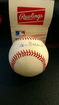 Authentic Stan Musial signed baseball Chevy Chase, 20815