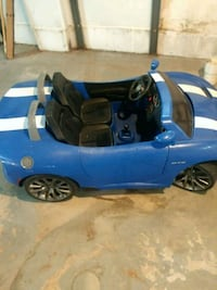 blue and black ride-on toy car Detroit, 48204