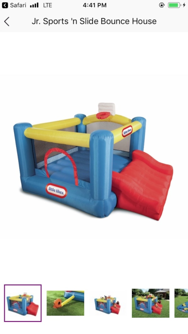 Little Tykes Sport Inflatable