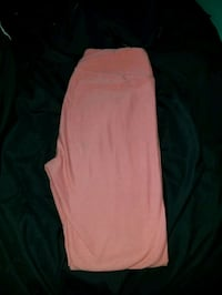 One size pink leggings Griffith