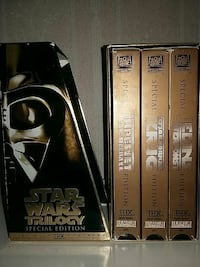 Star Wars Trilogy Special Edition VHS-samling