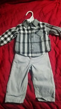 Baby outfit 6 Months $5 Mission