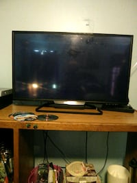 32 in flat screen TV. No issues at all. Greensburg, 47240