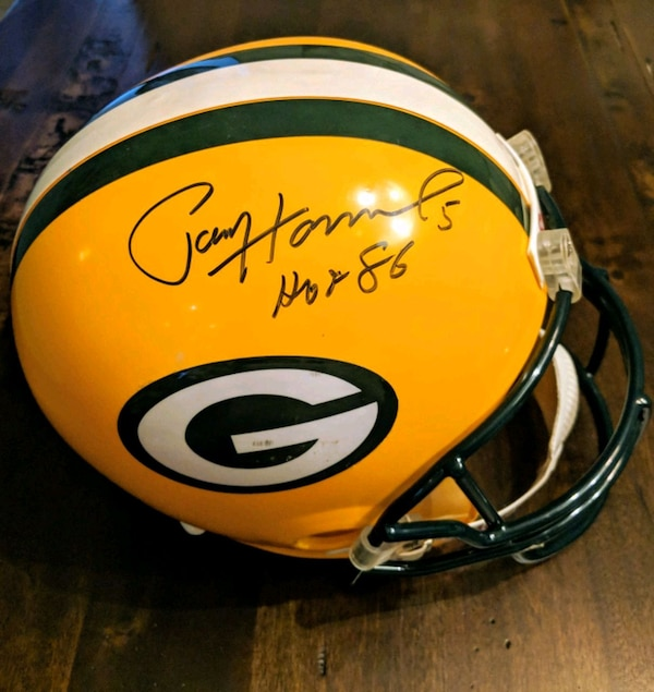 0f1fa49ec21 Used Paul Hornung Autographed Green Bay Packers Helmet for sale in Montreal  - letgo