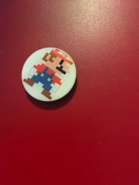 Nintendo Mario 8-Bit Ltd Ed Pin New York, 11214
