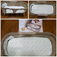 Portable bassinet great for travelling Calgary, T3K