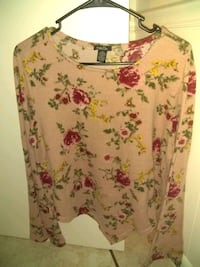 Long sleeve floral shirt perfect condition size XL Melbourne, 32935