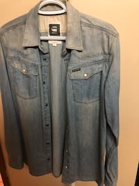G Star Raw Men's Denim Shirt Size Medium Toronto, M1W 3G1