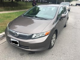 2012 Honda Civic, clean title, perfect car