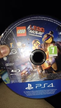 Lego movie videogame ps4 spilldisk Saltnes, 1642